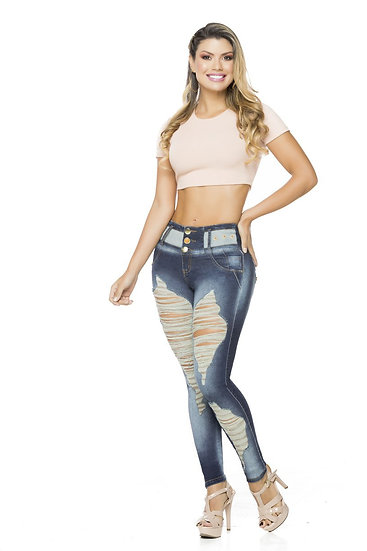 100% Authentic Colombian Push Up Jeans #9922 by Fantasy