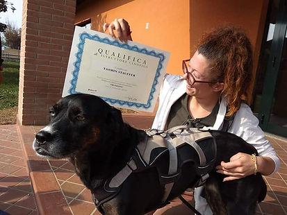 qualifica istruttrice in riabilitazione thinkdog