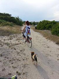 penny al mare io in bici