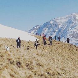 trekking di gruppo monte bar