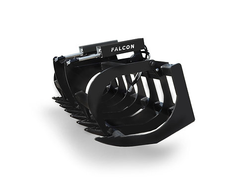 """HD FALCON DOUBLE CYLINDER ROOT/BRUSH GRAPPLE 72"""""""