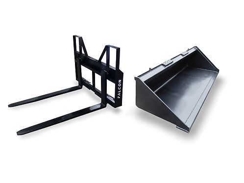 FALCON PALLET FORKS AND BUCKET COMBO(SAVE $50)