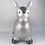 Thumbnail: XL Silver Metallic Horse