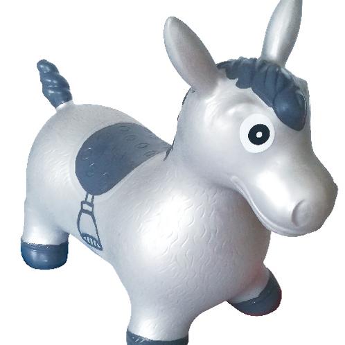 XL Silver Metallic Horse
