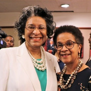 Madam County Attorney Patrice Perkins-Hooker and Senior Judge Gail S. Tusan