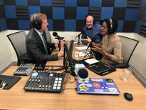 Behind the Case with Judge Tusan podcast with guest, Lloyd Bell and Attorney at Law Magazine Producer/Publisher, Bill McGill