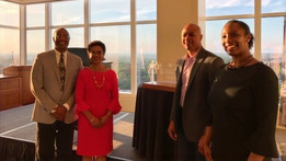 Judge Tusan and family on the occasion of her receipt of the prestigious Atlanta Bar Association Litigation Section Logan Bleckley Distinguished Public Service Award