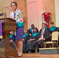 Delivering the Occasion at Women's Day, First Congregational Church, UCC