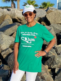 Making time for healthy habits in her happy place, St. Simons, GA: 25th Anniversary of the Walk for Healthy Living, The Links, Incorporated