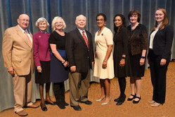 Judge Tusan, with Emory Law School Public Service EPIC Awards Recipients and Presenters