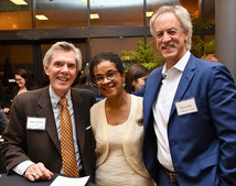 Enjoying great fellowship at Emory Law School's EPIC public service awards with fellow Adjunct Law Professor Rob Wellon and Marty Ellin, Executive Director, Atlanta Volunteer Lawyers Foundation