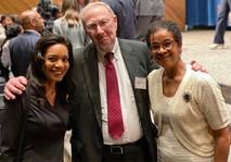 Judge Tusan with 2020 EPIC Award Recipient, Michelle Jordan and Steven Gottlieb, Executive Director, Atlanta Legal Aid Society