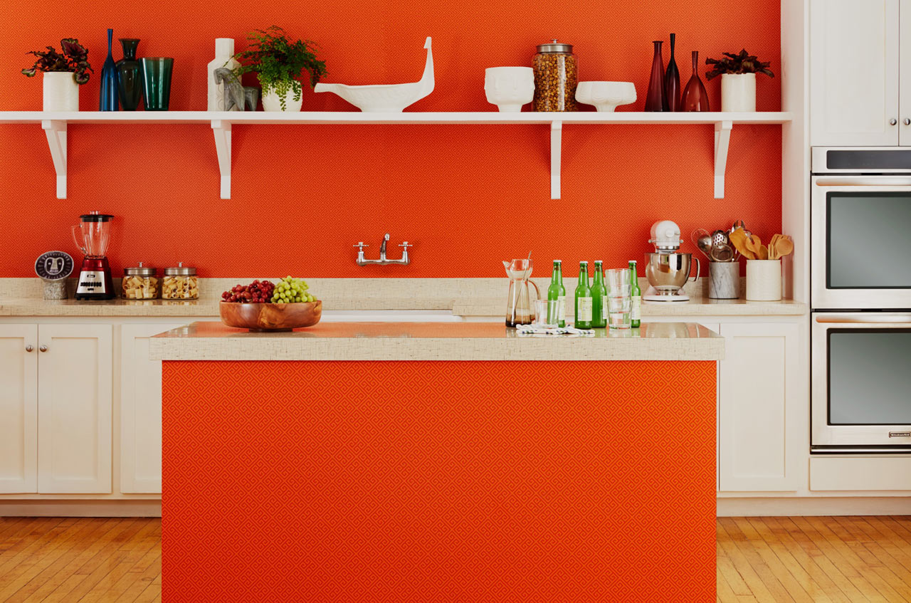formica-jonathan-adler-greek-key-orange-insitu