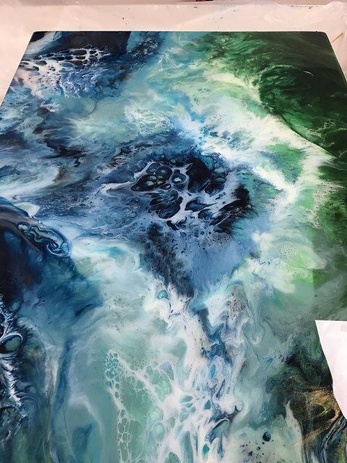 Mar de Azul y Verde PRICE ON APPLICATION