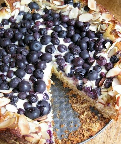 Blueberry Tart Cake
