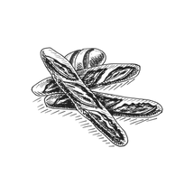 —Pngtree—black line drawing hand dra