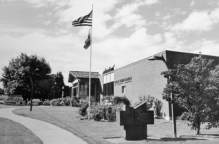 Yakima Valley Museum as it looked in the 1990s