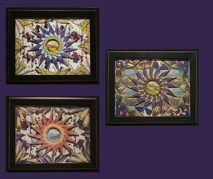 Seasons Triptych     $1,500