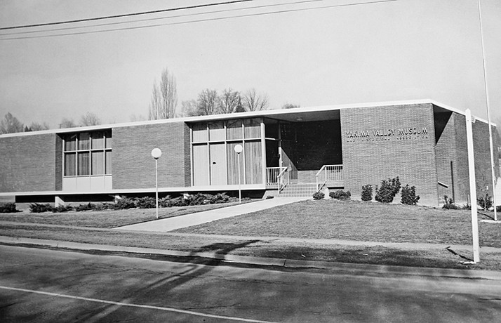 The Yakima Valley Museum as it looked in the late 1950s