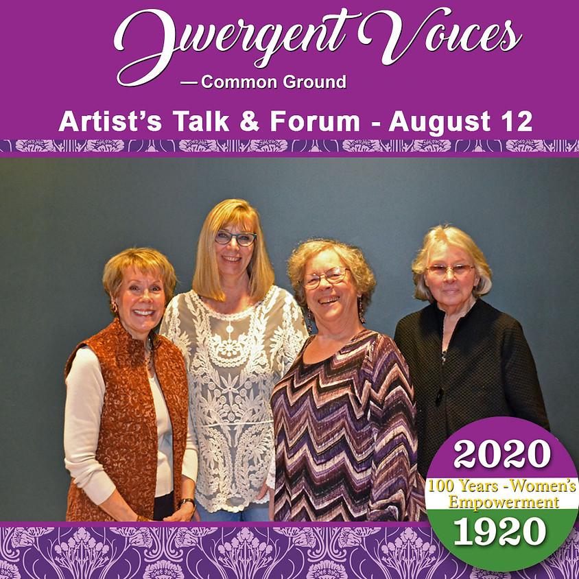 Artist's Talk and Forum (1)