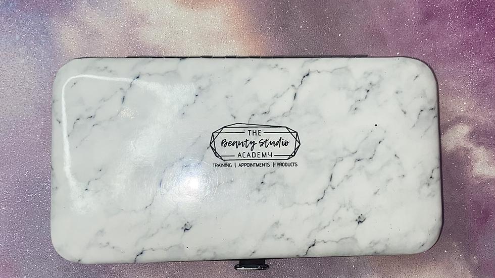 Marble Tweezer Case