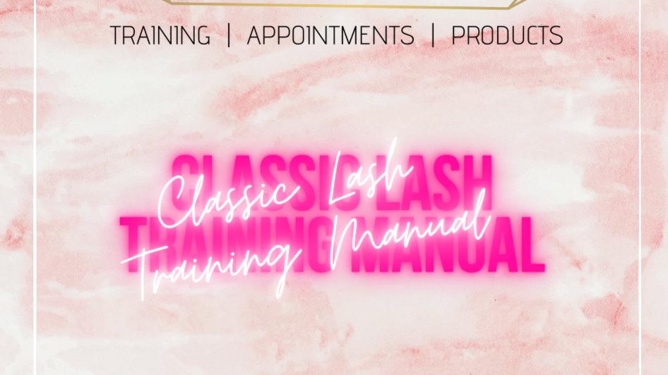 Digital Classic Lash Extension Training Manual