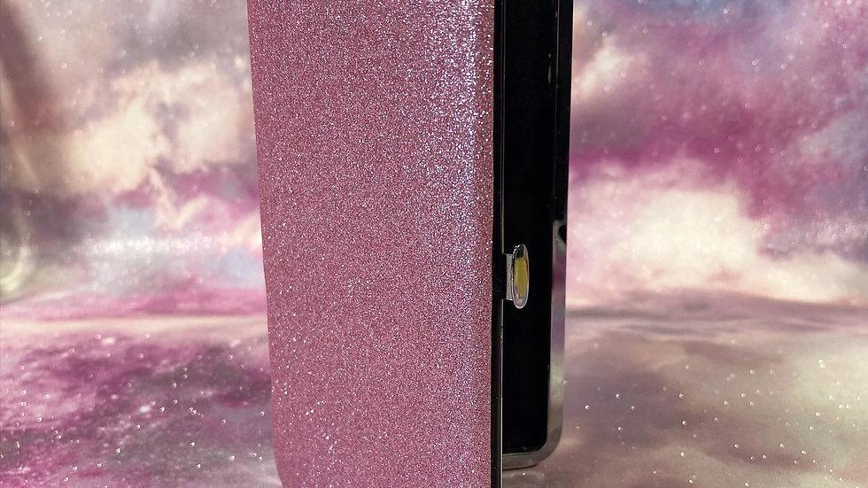 Pink Glitter Magnetic Tweezer Case