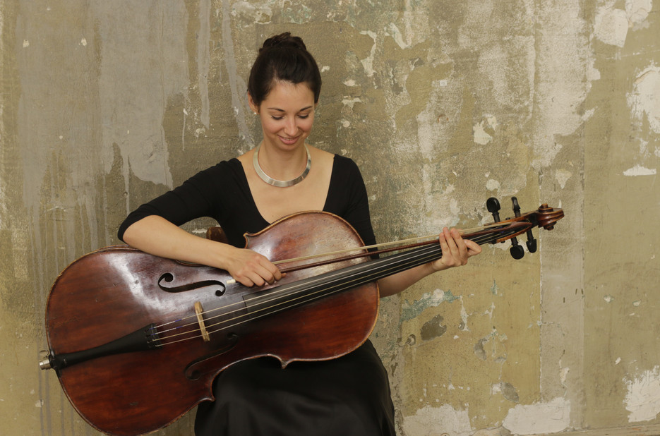Anna Zimre, Barockcello