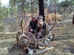 Unit 12AW Kaibab rifle Mule deer 12