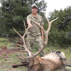 Unit 7 West early archery bull elk 1
