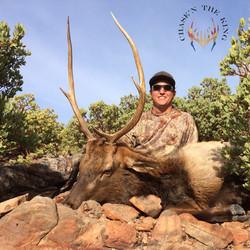 Unit 22N late rifle bull elk 1