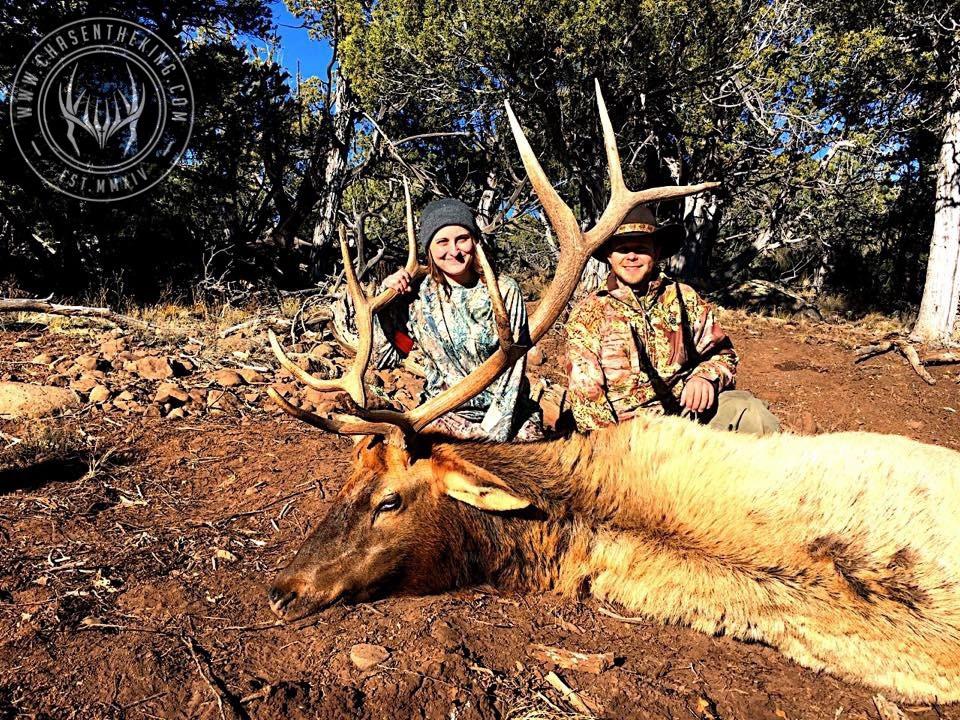 Unit 5B late season rifle bull elk 7