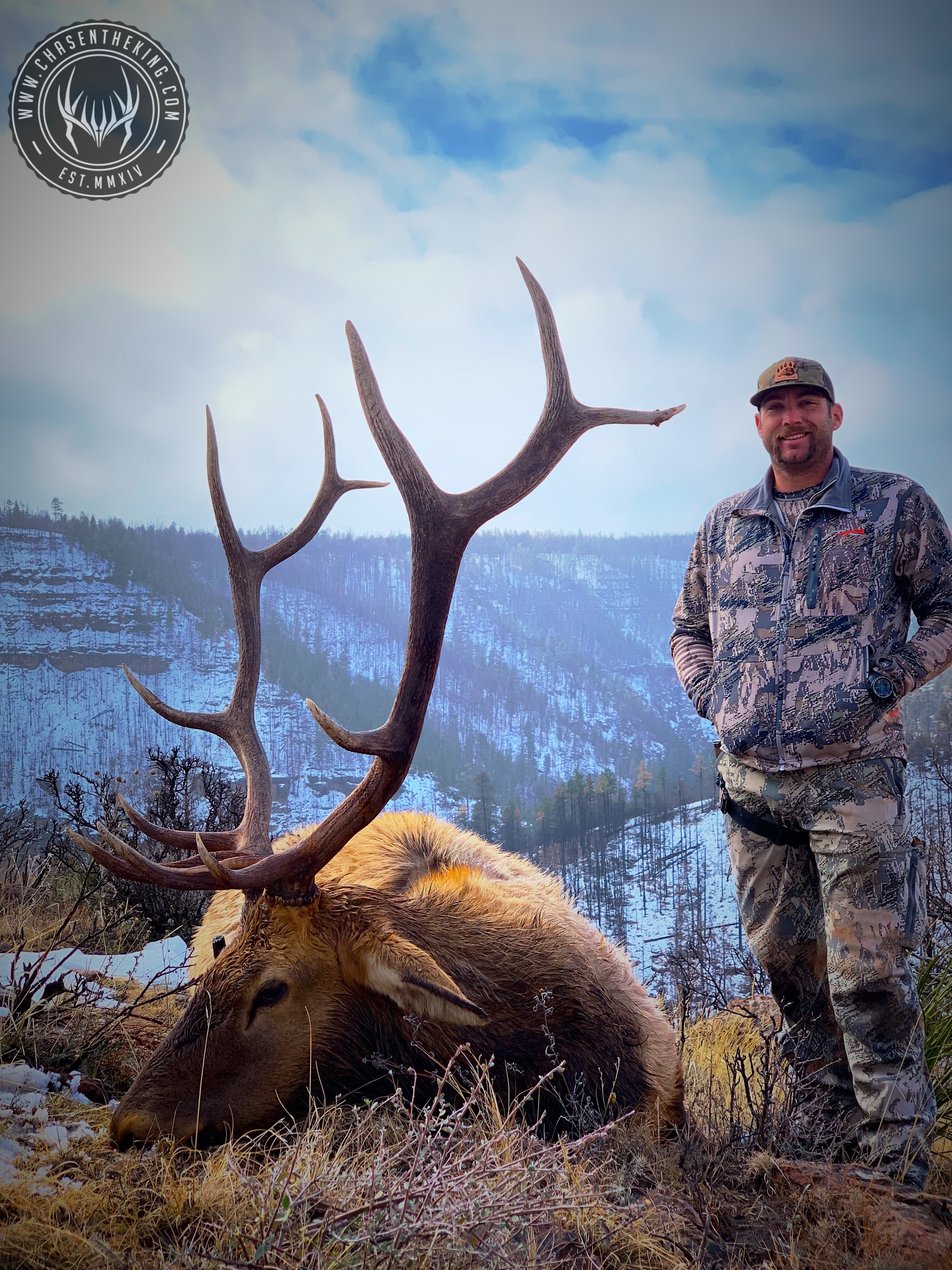 Unit 5A late season rifle bull elk 4