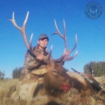 Unit 5B late season rifle bull elk 8