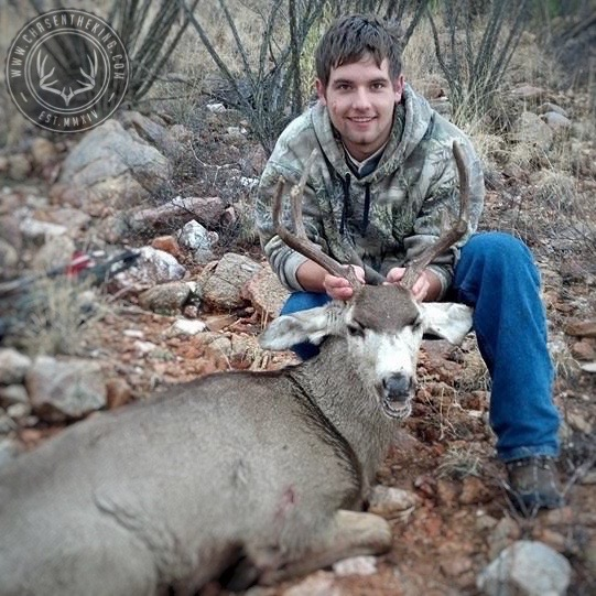 Arizona OTC archery mule deer 25