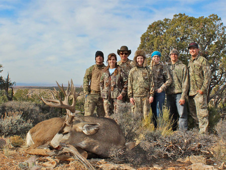 The Last November: Hunting the Kaibab 12AW Late Rifle Mule Deer