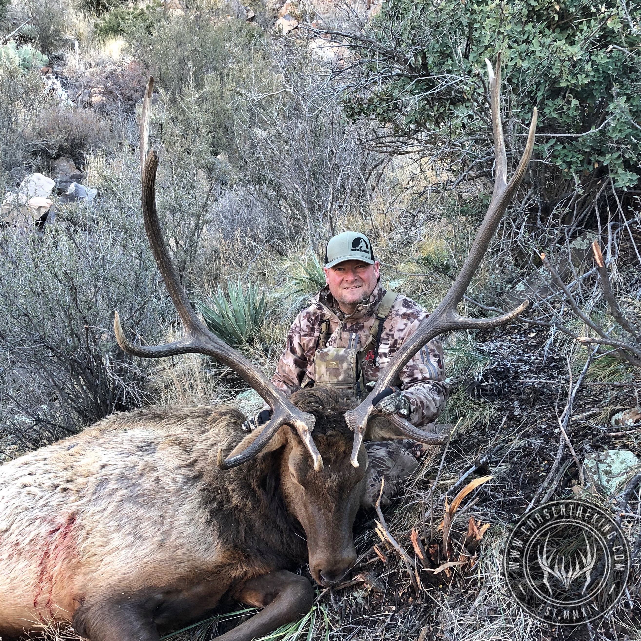 Unit 8 late season rifle bull elk 3