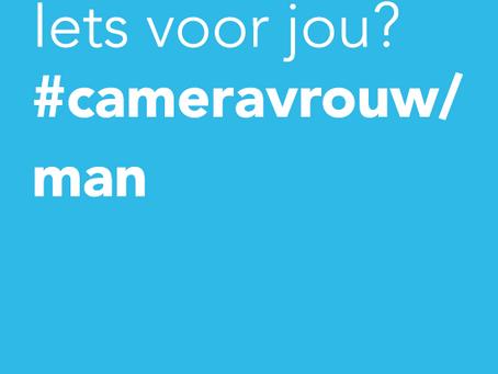 Cameraman / -vrouw gezocht!