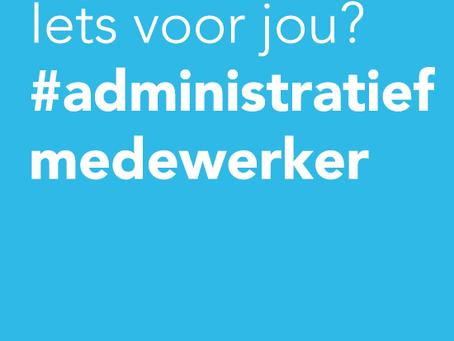 We zijn op zoek naar een administratieve collega (16-20 uur)