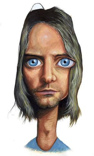 Kurt. Acrylic on paper