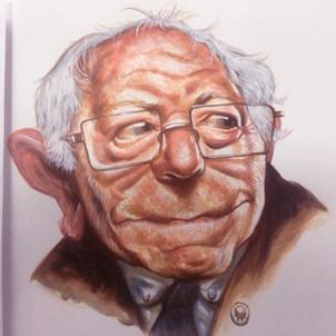 Berbie Sanders. Acrylic on paper
