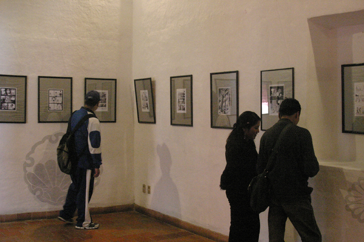 La Paz Cartoon exhibition