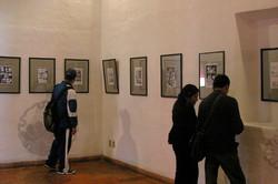 La Paz Cartoon exhibition