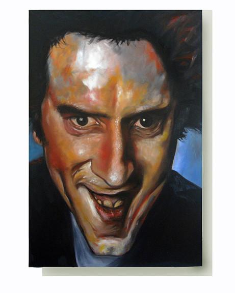 John Lydon. Oil on Canvas