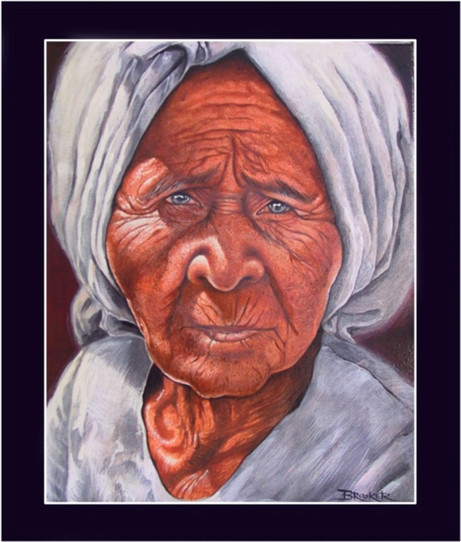 Cambodia. Acrlic on canvas