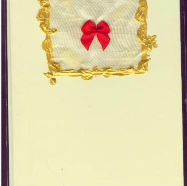 Virginie handmade greeting card
