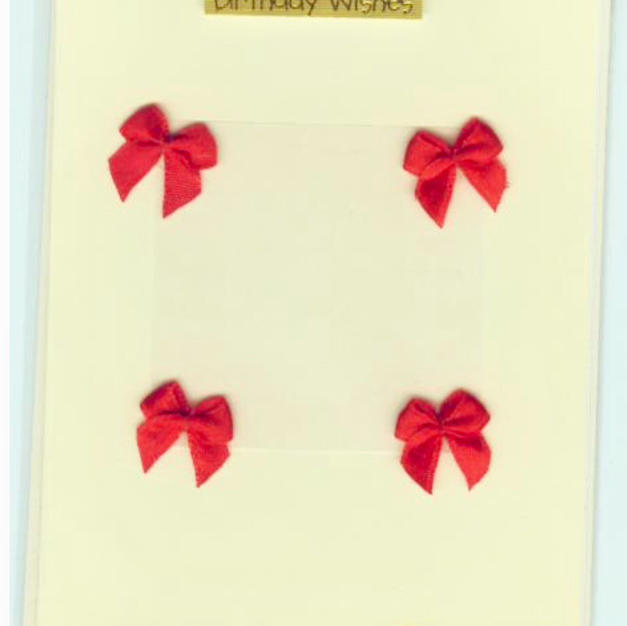 Bibi handmade greeting card