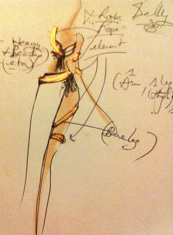 bellydance costume designer in London