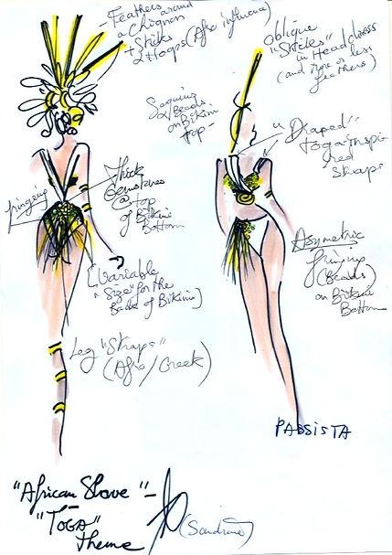 London costume designer Sandrine Anterrion