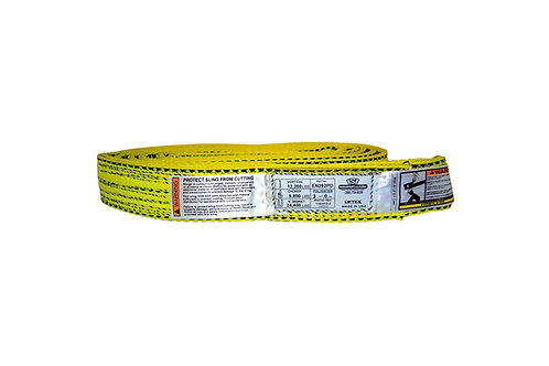 "Lifting Web Sling - 2"" x 3 FT - Two Ply - Endless - Type 5 - Polyester"